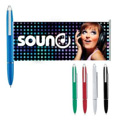Universal Source™ Metal Clip Banner Pen