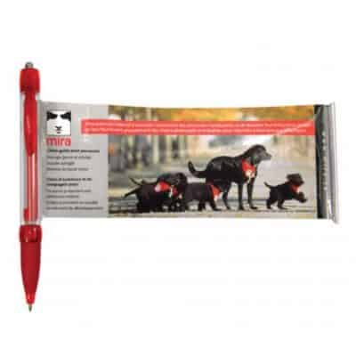 Banner Pen - (10-12 weeks) Red