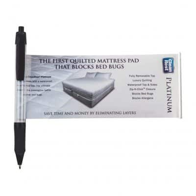 """Stay-Open"" Banner Pen - (5-6 weeks) Black"